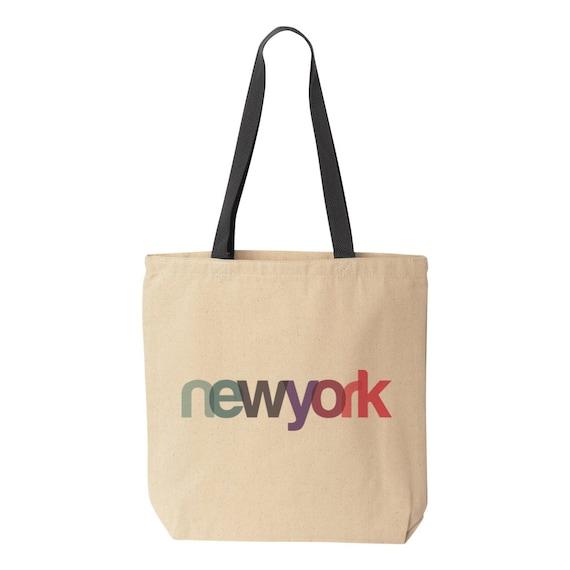 New York Tote Bag NYC Tote Bag New York Bridesmaid Gift