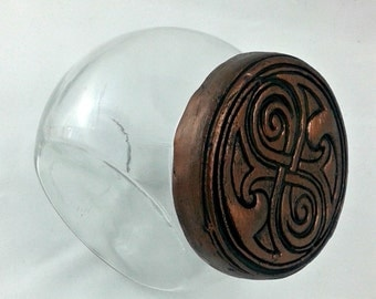 Seal of Rassilon candy jar - Doctor Who container