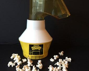 Vintage Wear-Ever Popcorn Pumper, Popcorn Maker, Popcorn Popper, Hot Air Popper, Movie Popcorn