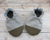 UPGRADE- Reinforced Toes, Durable Baby Shoes, Toddler Booties, Rubber Soles