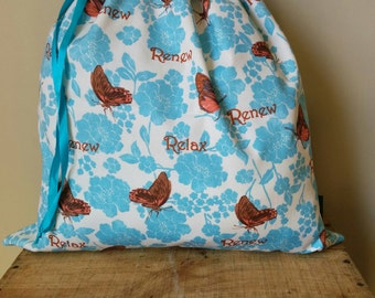 Kids Library Bag - Butterflies.
