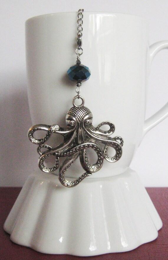 Octopus tea infuser charm jules verne inspired by camillelalune - Octopus tea infuser ...
