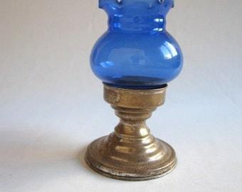 vintage 925 silver tealight holder