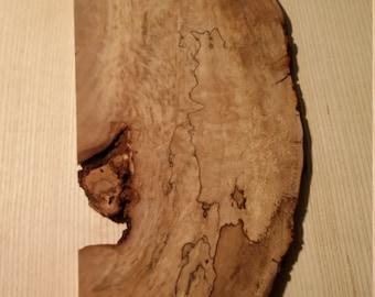 Sycamore Burl Plate