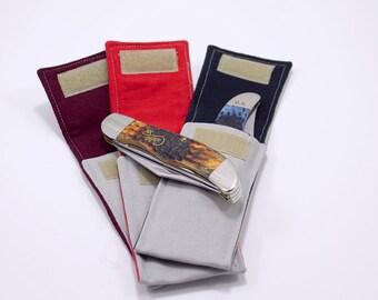 "Grey ""Hunter"" Pocket for 5 to 5 1/2 in. Folding Knife"
