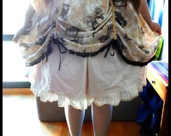 Around the world - Steampunk Lolita Skirt