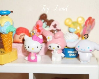 10pcs / Cinnamoroll Charm/DIY Earring/Necklace/Phone Case/Craft Making/Doll House/Craft Stuff