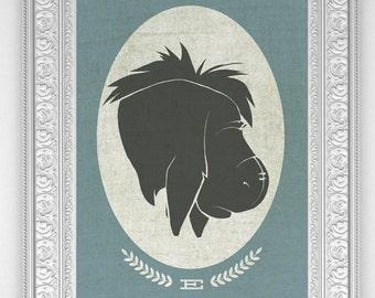 Winnie the Pooh: Eeyore Art Print or Posters (Multiple Sizes)