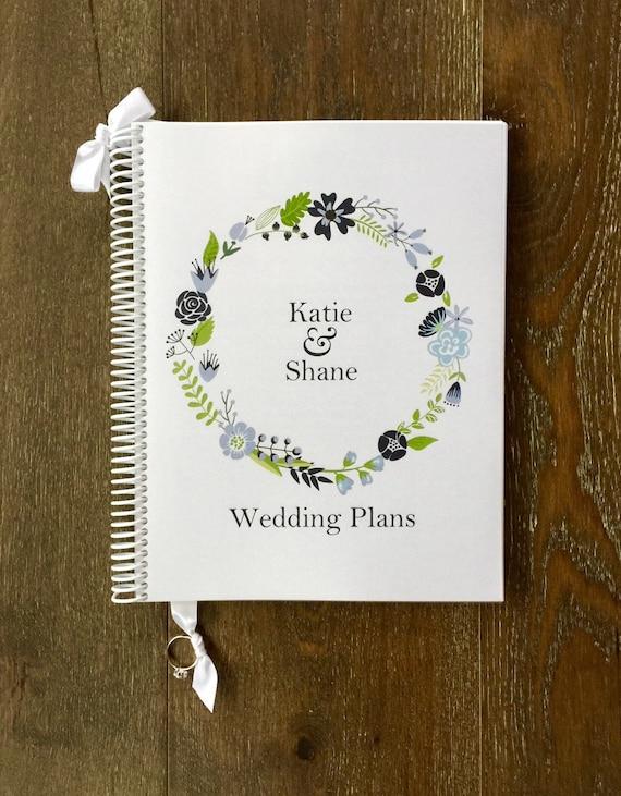 Wedding Planner Gift To Bride : Wedding Planner Book-Wedding Organizer-Engagement Gift-Wedding ...