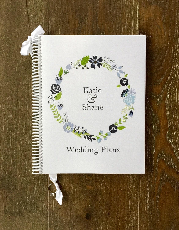 Wedding Planner Book Wedding Organizer Engagement Gift Wedding