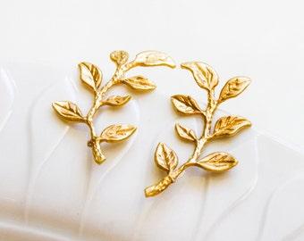 Twig earrings - 925 sterling silver