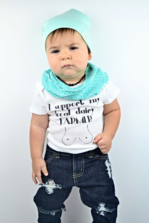 Funny Baby One Piece Outfit Gender Neutral by LivAndCompanyShop
