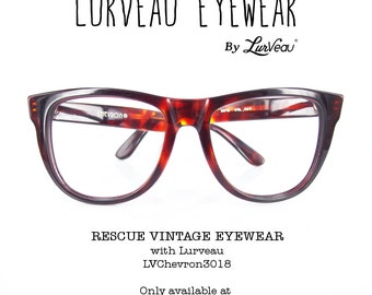 Lurveau® Authentic Vintage Tortoise Geek Glassed (no lens)