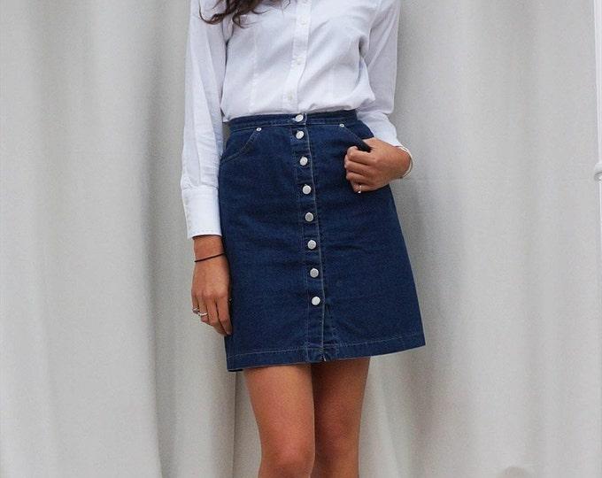 Minimal White Shirt, Katharine Hamnett 1980s Fitted Womens White Shirt, 80s Blouse, Vintage Katharine Hamnett Top, Classic Shirt Monochrome