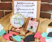 CORAL Brave Box // #happyheartmail adoption fundraiser
