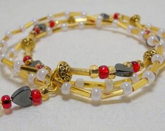 "2 Piece Jewelry Set ""Gold Rush 2"" (Item 3011)"
