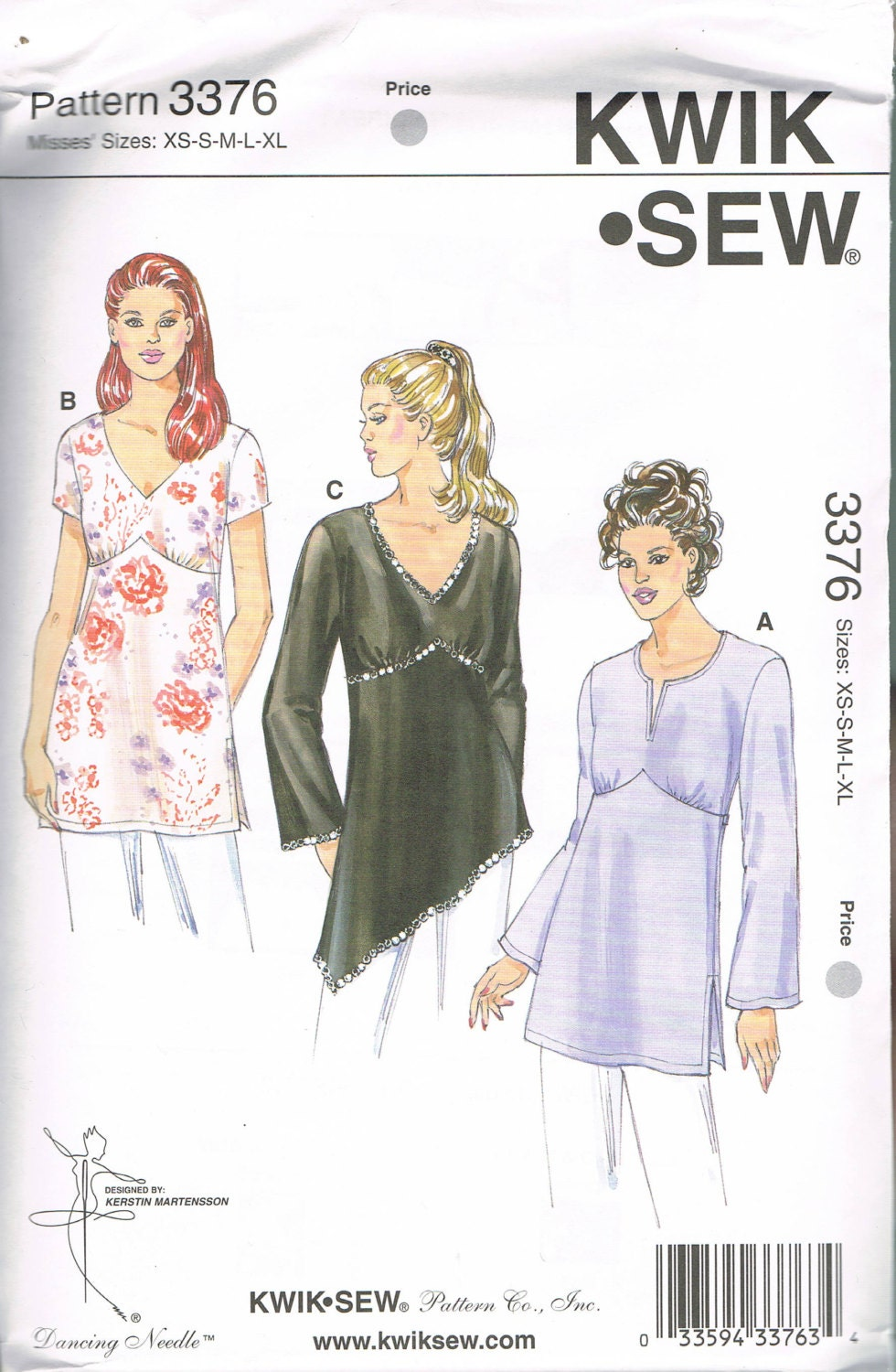 Size xs xl misses tunic top sewing pattern empire waist v neck sold by busybeaverboutique jeuxipadfo Image collections