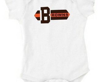 Cleveland Brown Onesie