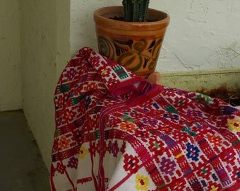 Authentic Mexican Vintage Poncho