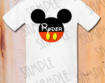 Disney Mickey Mouse Iron On Transfer Printable Birthday Boy digital download Personalized Disney Family Trip Minnie Birthday Party shirts