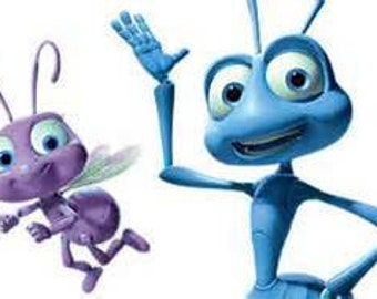 iron on only disney a bug's life