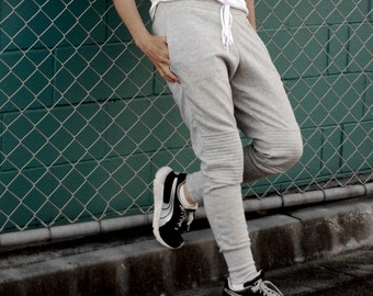 M is for Moto Joggers Ladies womens Joggers  PDF digital sewing pattern tracksuit pants instant download