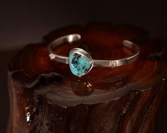 Daughter's Sleeping Beauty Turquoise Bracelet
