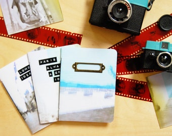 lomography print notebook | customizable label