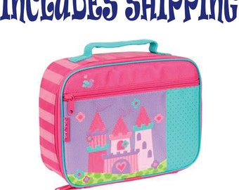 Stephen Joseph Toddler Pre School Castle Lunch Box Personalized INCLUDES SHIPPING!!!