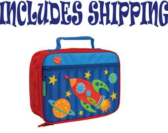 Stephen Joseph Toddler Space Lunch Box Pre School INCLUDES SHIPPING!!!  Personalized