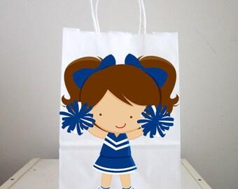 Cheerleader Goody Bags, Cheerleading Goody Bags, Cheerleading Favor Bags, Cheerleading Gift Bags, Cheerleader Goody Bags (1125161234P)