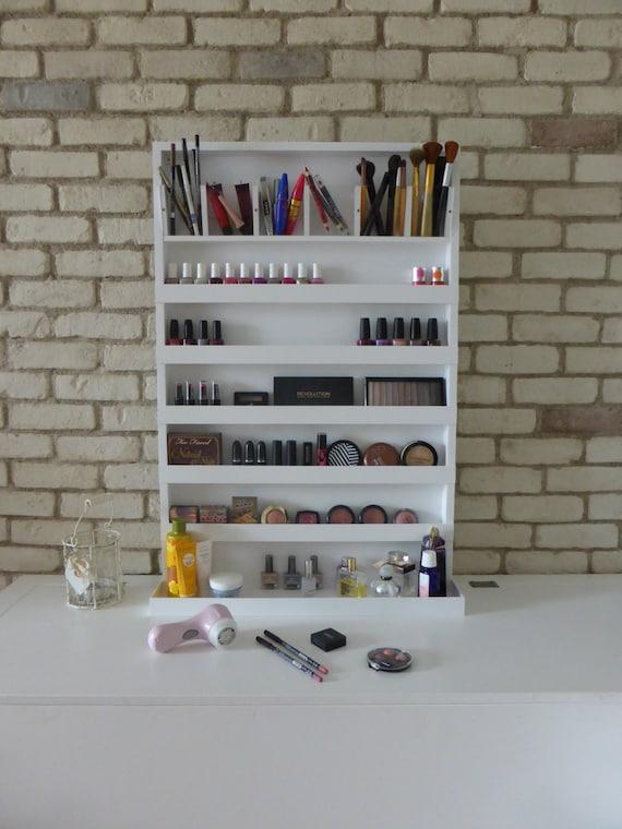 Xtra Large Makeup Organizer Nail Polish Rack Wall Hanging