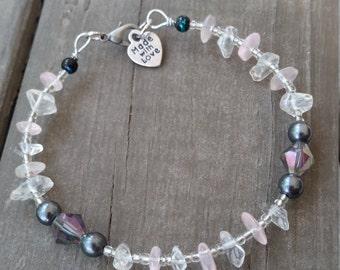 Rock Candy ~ Love Bead Bracelet
