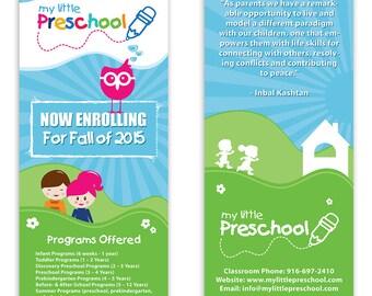 Preschool Template Flyer