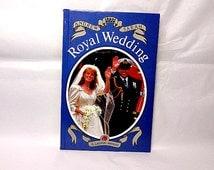 Royal Wedding, Vintage Ladybird Book, Prince Andrew, Sarah Ferguson, Children's Book, Ladybird Souvenir, British Royal Family, Duke of York