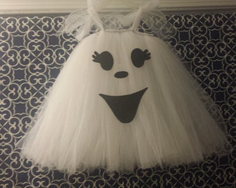 Baby/toddler/child ghost tutu costume