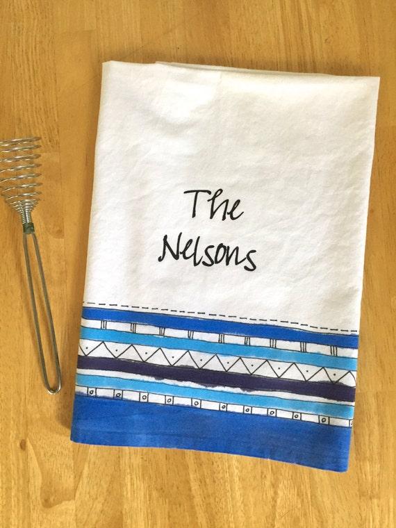Sack Towel, Personalized Wedding Gift, Scripture Wedding, Wedding ...