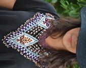 KUCHI NECKLACE, Kuchi COLLAR, Afghan necklace, Collar étnico, Ethnic Necklace