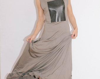 open back maxi dress/Sexy dress/sleeveless dress