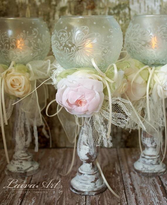 wedding candle holder bridal shower decoration ceremony set of. Black Bedroom Furniture Sets. Home Design Ideas