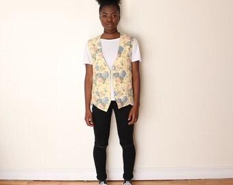 SALE***Floral Vest