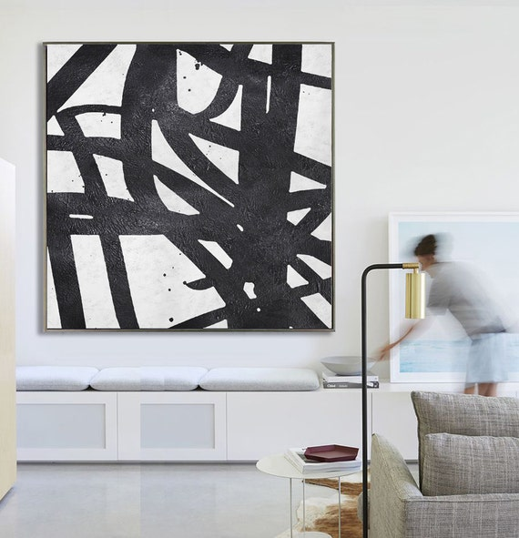 Abstract Painting Extra Large Canvas Art By Celineziangart