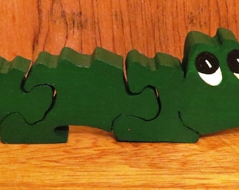 Stand-Up Puzzle...Alligator
