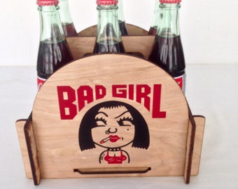 Bad Girl Beer, Soda and Condiment 6 Pack Caddy