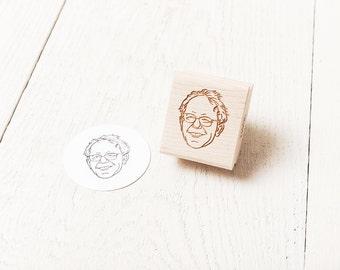 Bernie Sanders Rubber Stamp
