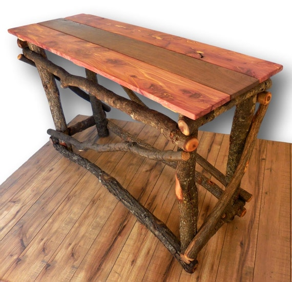 Reclaimed Wood Sofa Table Entryway Table Reclaimed by