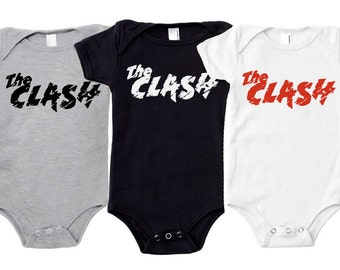 The Clash Baby one piece