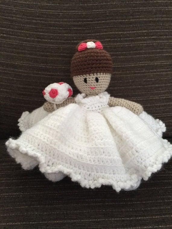 Crochet Pattern Wedding Doll : PDF Bride Doll Crochet download Pattern