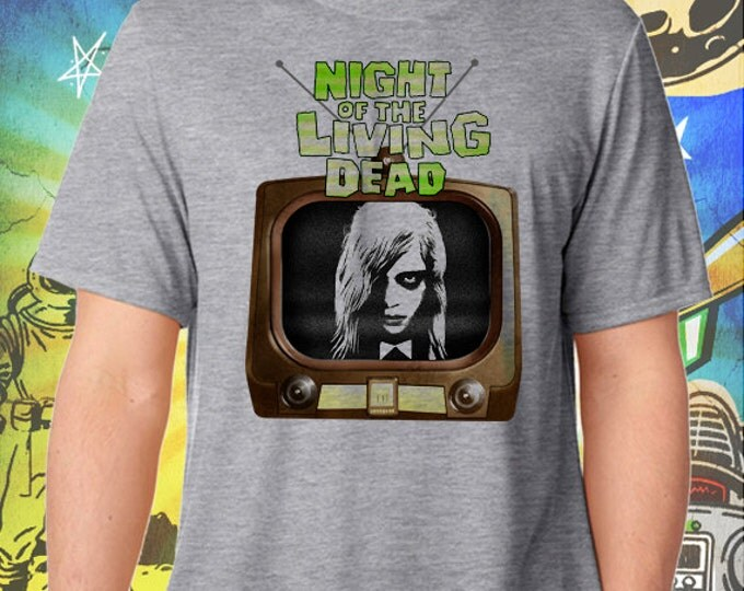 Night of the Living Dead Men's T-Shirt George Romero's Zombie Tshirt