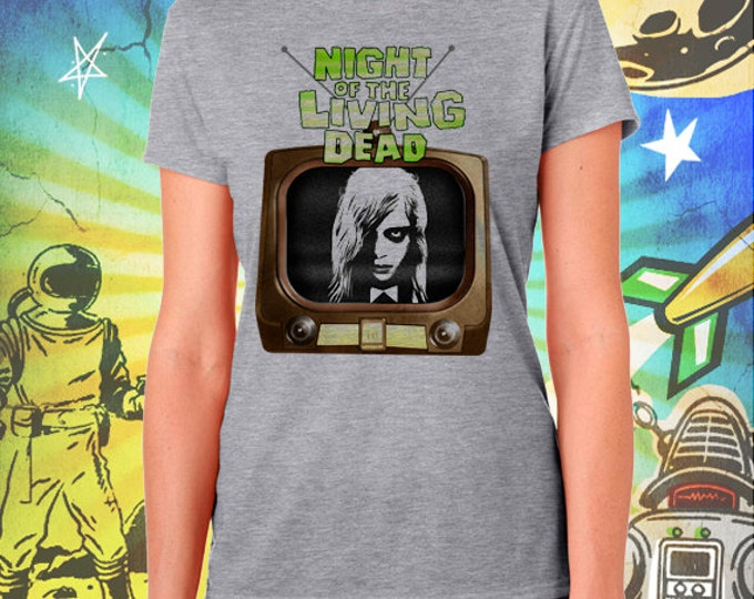 Night of the Living Dead Women's T-Shirt George Romero's Zombie Tshirt